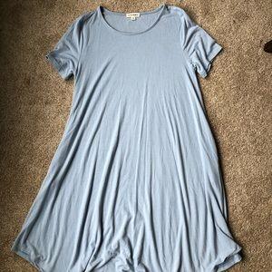 Flowy Blue Dress